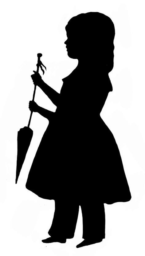 472x833 Silhouette Clipart