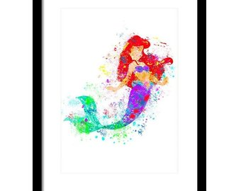 340x270 Little Mermaid Art Etsy