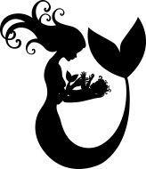 164x190 Little Mermaid Silhouette Tattoo Tattoo Silhouette