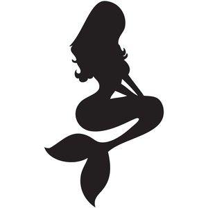 300x300 Mermaid Silhouette Tattoo Cool Art, Photos Tattoos