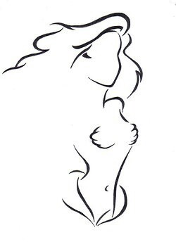 250x354 Disney Princess Embroidery Outline Ariel. Embroidery