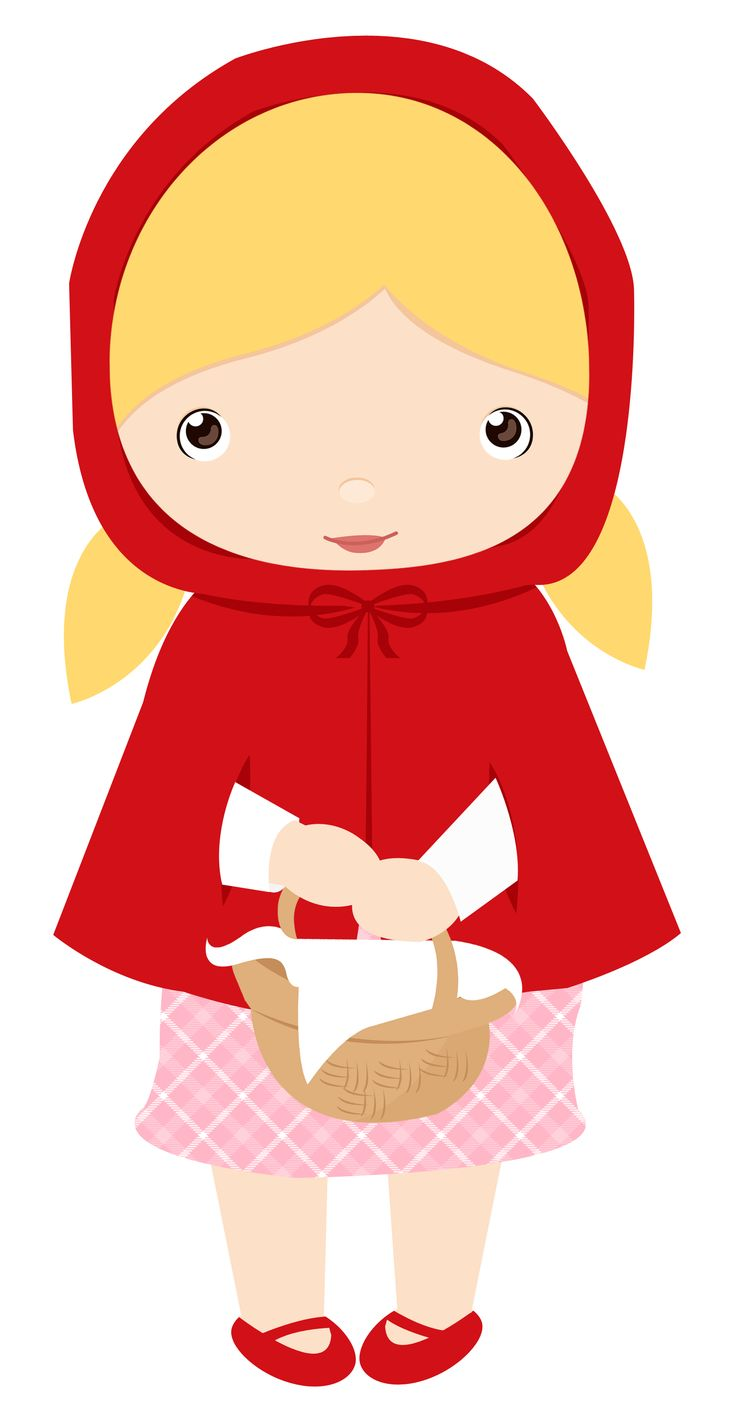 736x1428 Red Riding Hood Clipart