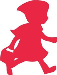 229x300 Resultado De Imagen De Siluetas De Caperucita Roja Cortinas