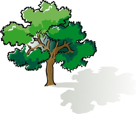 439x368 Live Oak Tree Vector Images Free Vector Download (5,884 Free