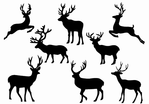 502x352 Christmas Town Silhouette Lovely Used These For The Nativity Scene
