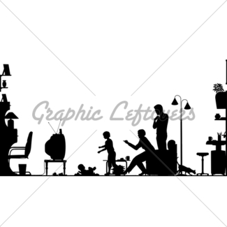 325x325 Domestic Gladiators Silhouette Gl Stock Images