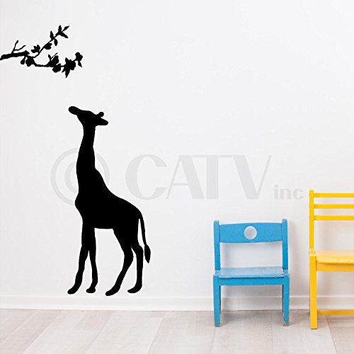 500x500 Fange Diy Removable 3d Creative High Definition Window Giraffe Art