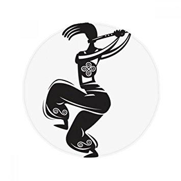 355x355 Flute Celebrate Silhouette Mexico Dance Mexican Anti