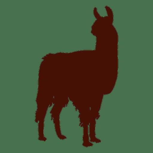 512x512 Llama Silhouette