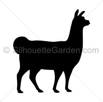336x334 Llama Silhouette Clip Art. Download Free Versions Of The Image