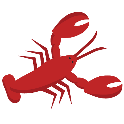 432x432 Lobster Svg Scrapbook Cut File Cute Clipart Files For Silhouette