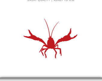 340x270 Crawfish Clipart Silhouette