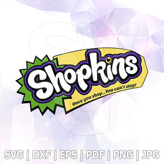 570x570 Shopkins Logo Svg Dxf Eps Png Layered Cut Files Cricut Designs