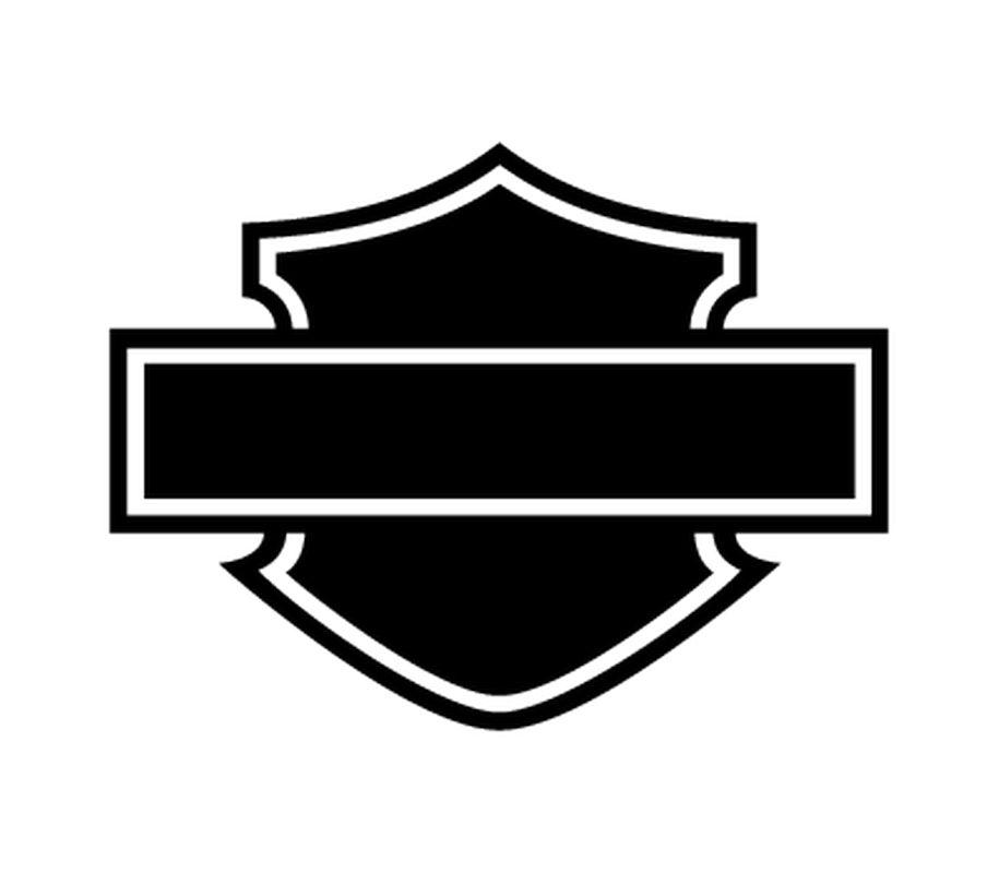 915x800 Davidson Logo Silhouette Decal