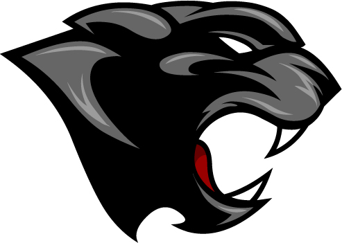 493x351 Panther Head Clipart