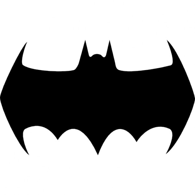 626x626 Batman Head Clipart Black And White Collection