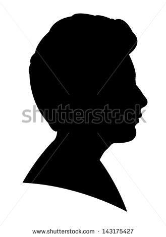 329x470 Black Silhouette Head Logo