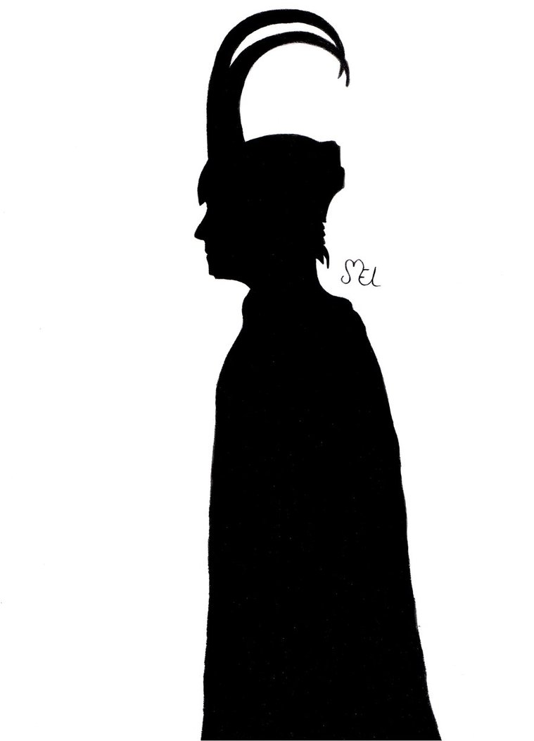 759x1052 Loki Silhouette By Monilainlp