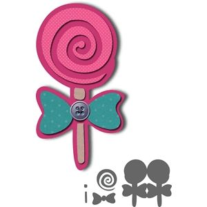 300x300 Sweet Lollipop Card
