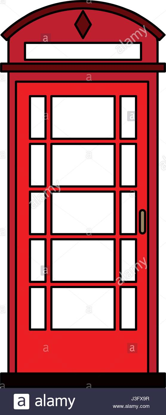 556x1390 Red Phone Booth Vector Stock Photos Amp Red Phone Booth Vector Stock