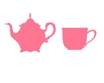 340x270 Teapot Silhouette Etsy