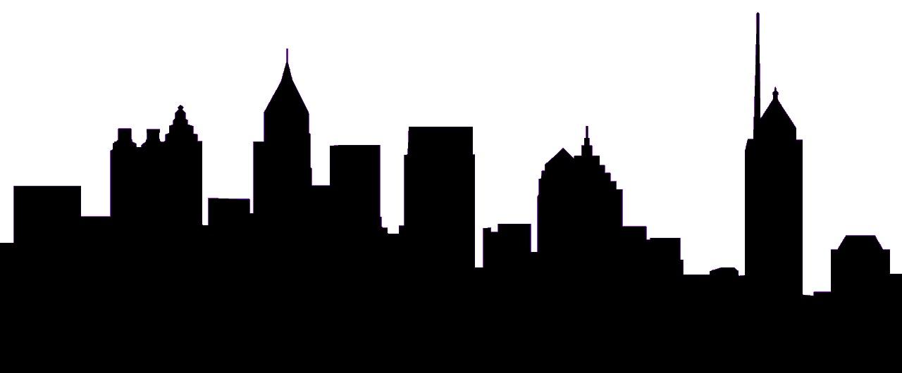 1280x530 Cityscape Silhouette