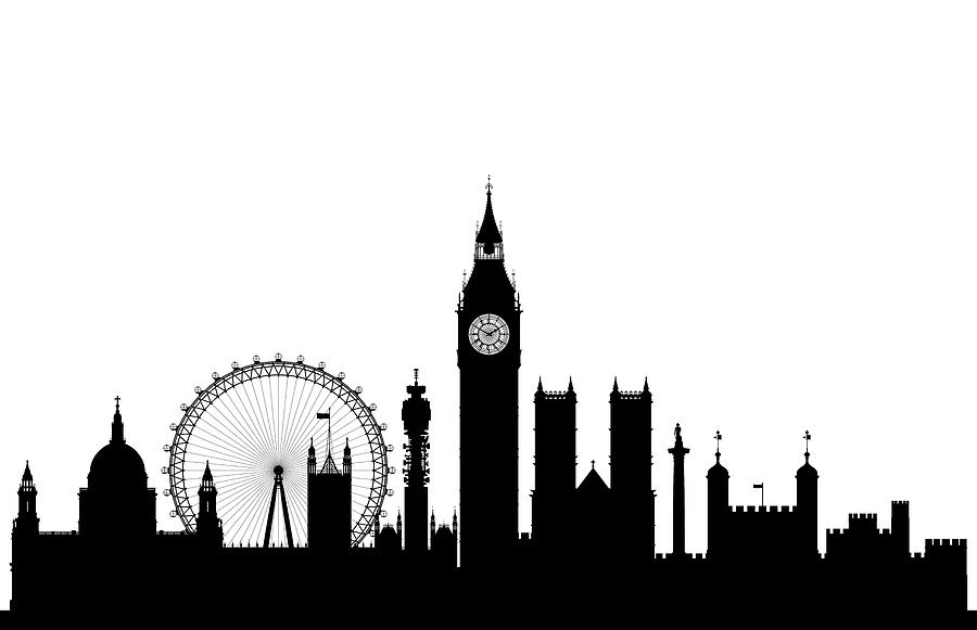 900x581 London Digital Art By Leon Bonaventura