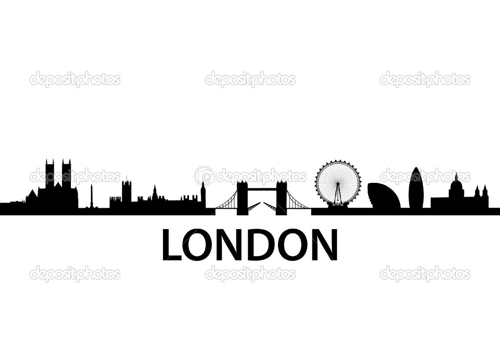 1024x724 London Skyline Silhouette