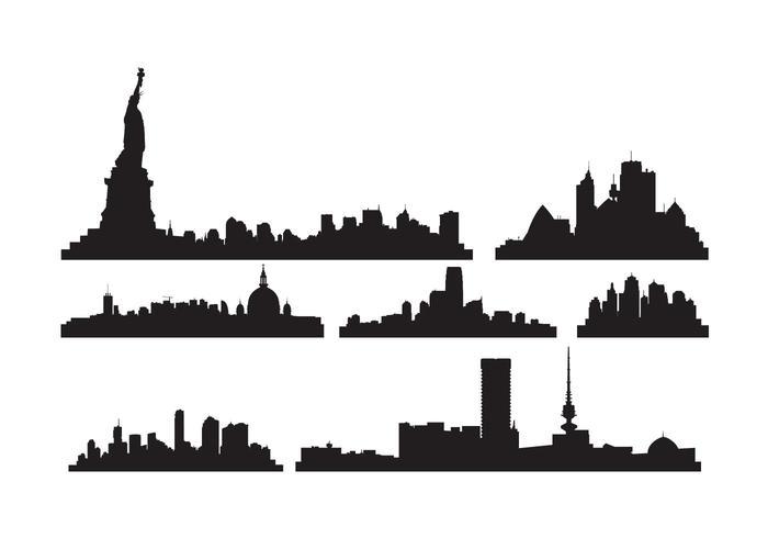 700x490 Free Vector City Skylines