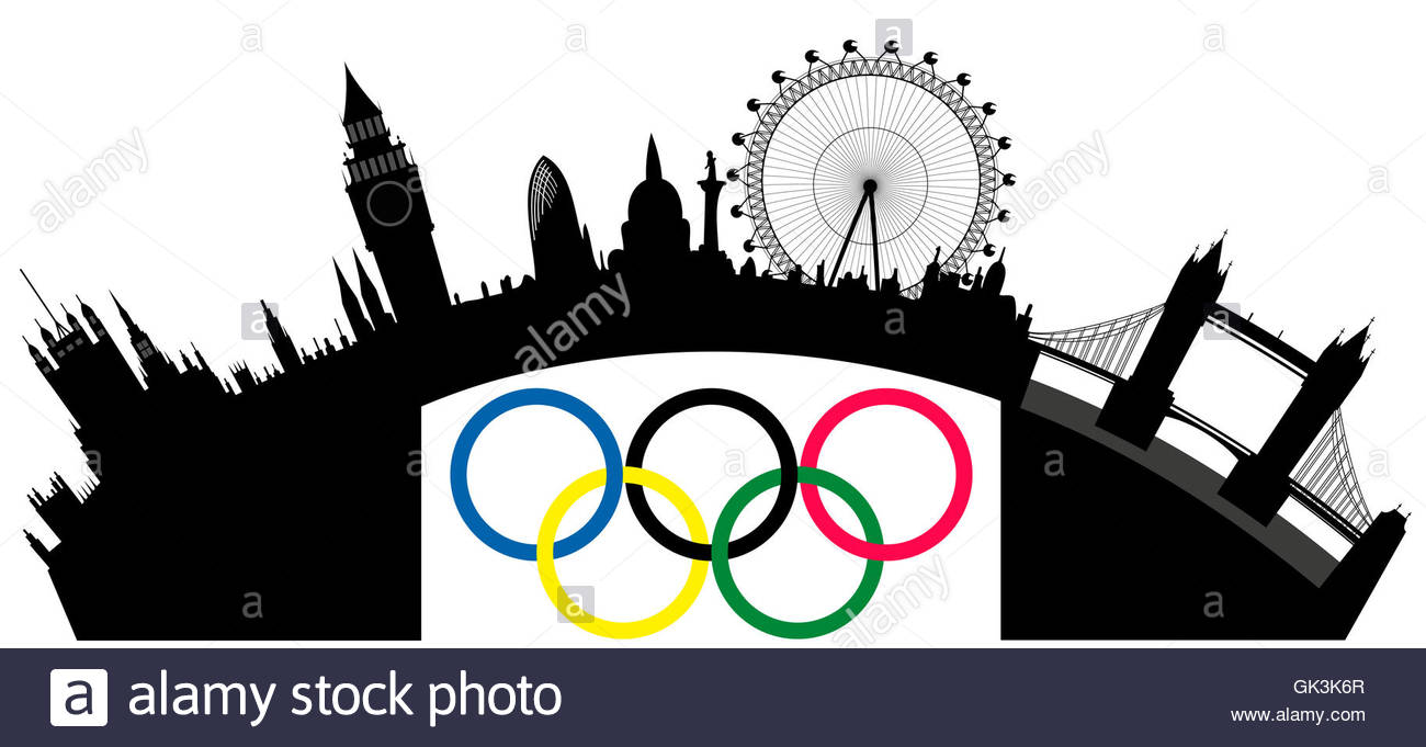 1300x681 London Skyline Cut Out Stock Images Amp Pictures
