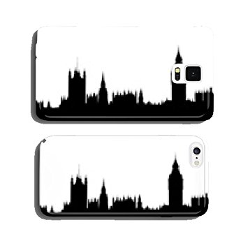 355x355 Silhouette Of London Houses Of Parliament Skyline Cell Amazon.co