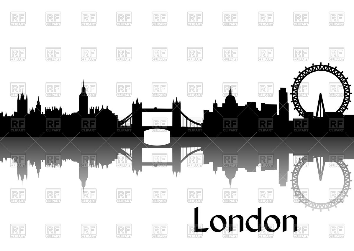 1200x852 Silhouette Of Cityscape Of London