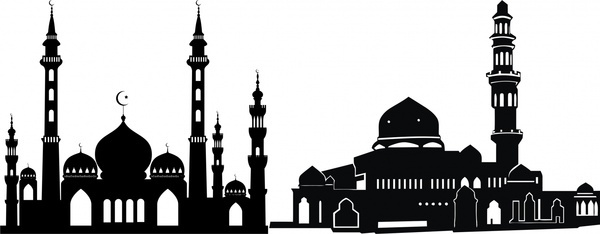 600x234 Building Silhouette Free Vector Download (6,832 Free Vector)