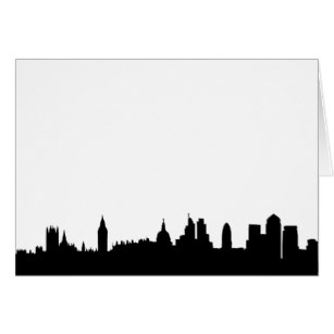 307x307 London Skyline Silhouette Cityscape Gifts Amp Gift Ideas Zazzle Uk