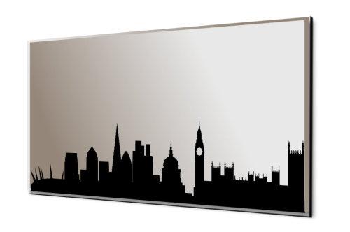 500x332 Silhouette Skyline Mirror