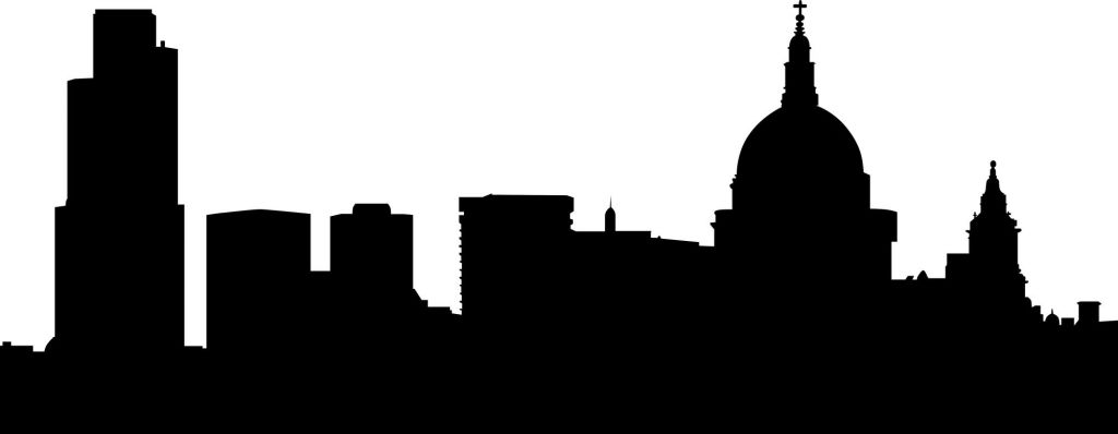 1024x398 London Skyline Silhouette