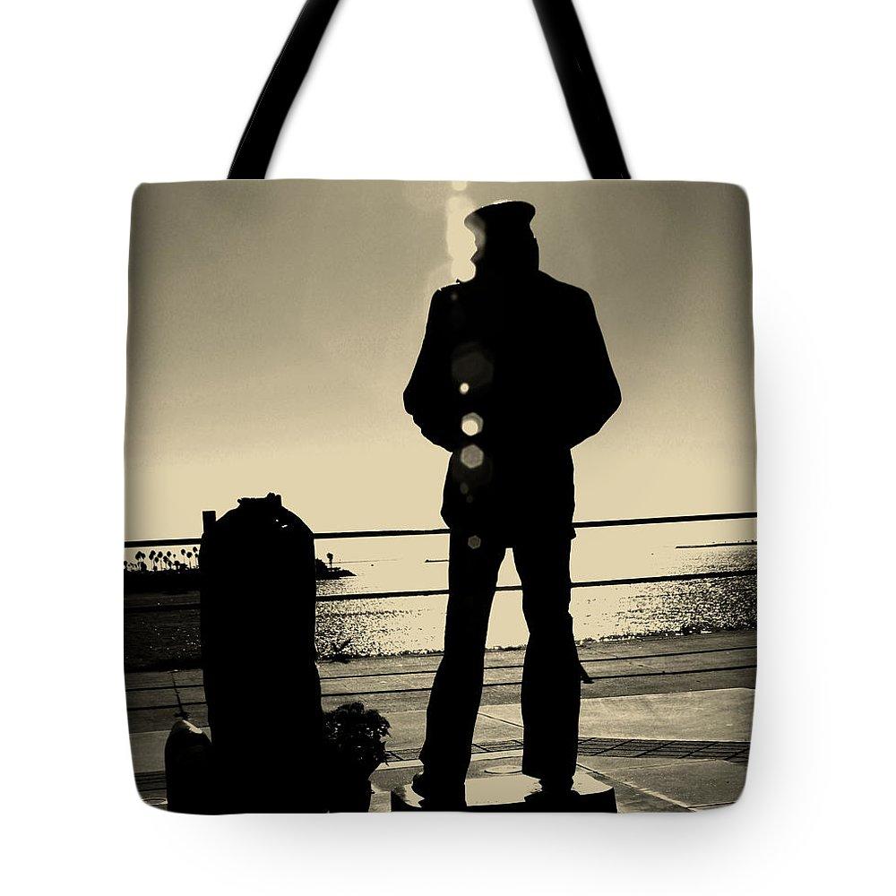 1000x1000 Lone Sailor Tote Bags Fine Art America