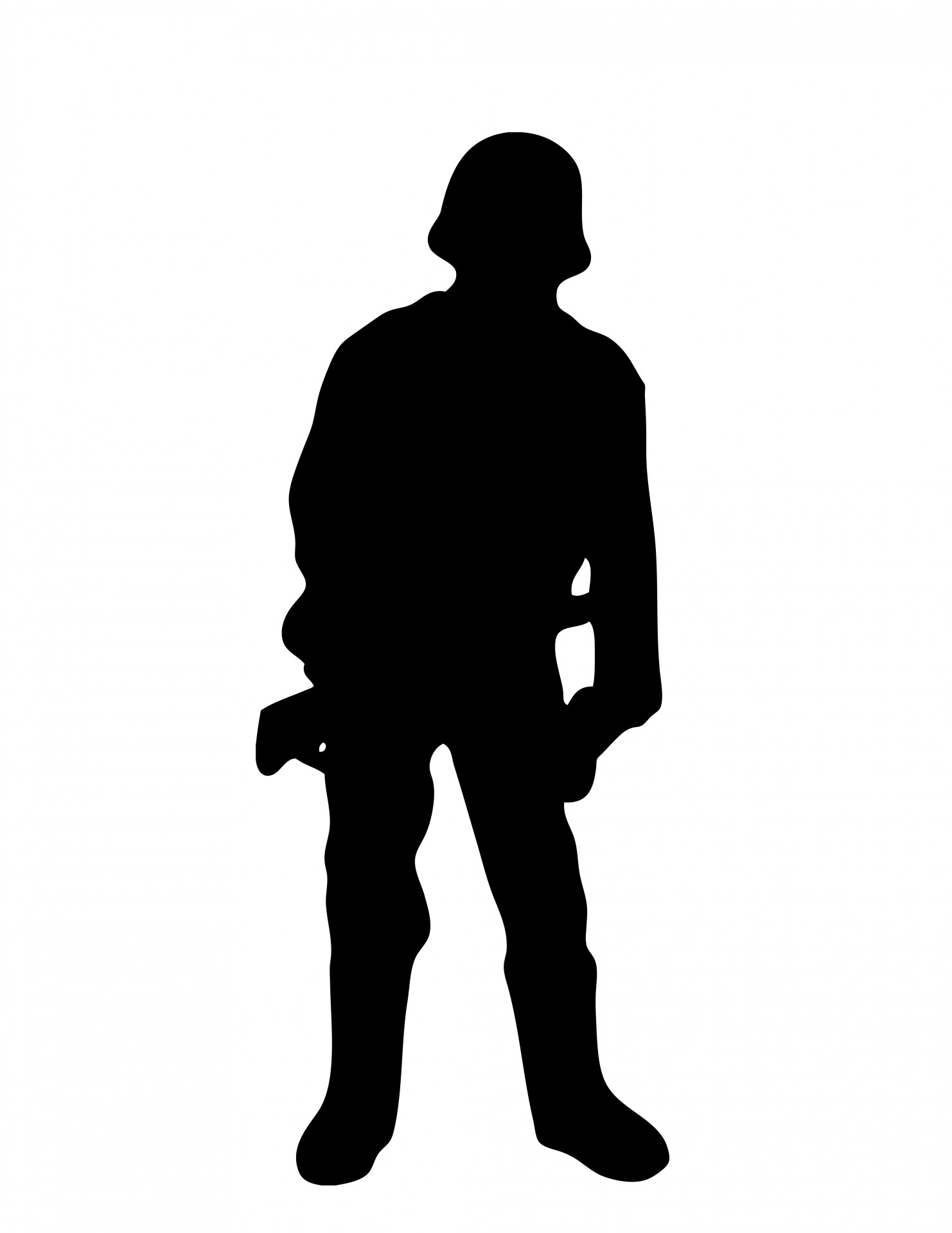 1482x1920 Soldier Silhouette Free Stock Photo