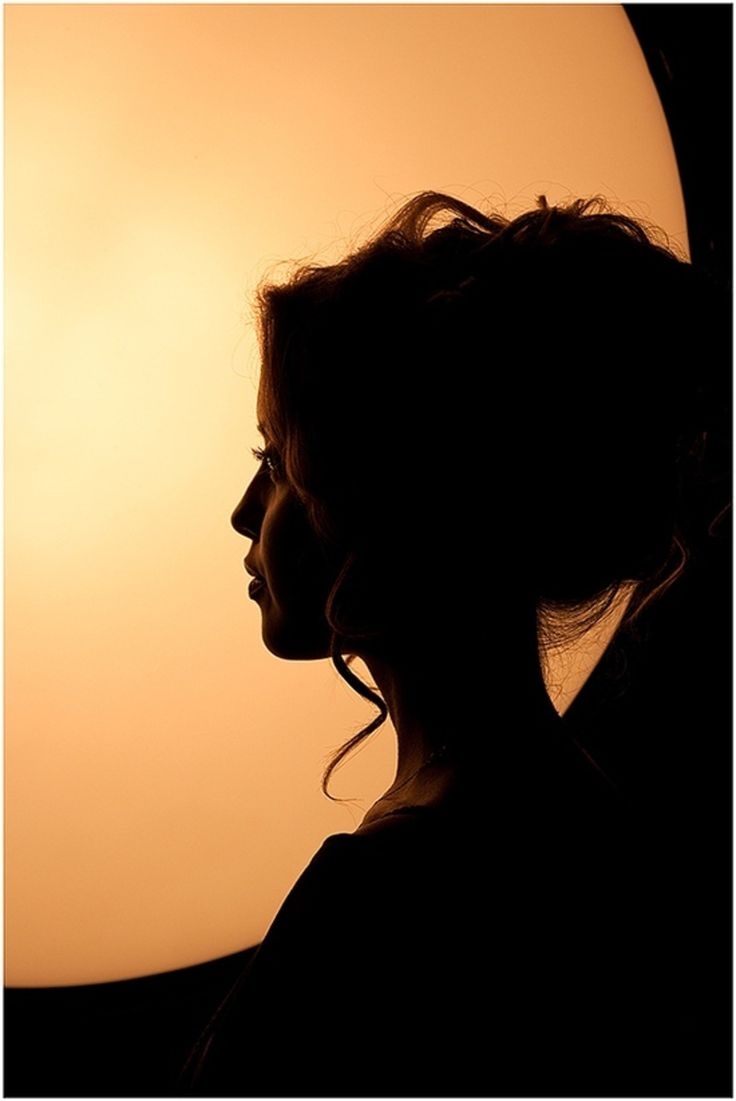 Lonely Woman Silhouette