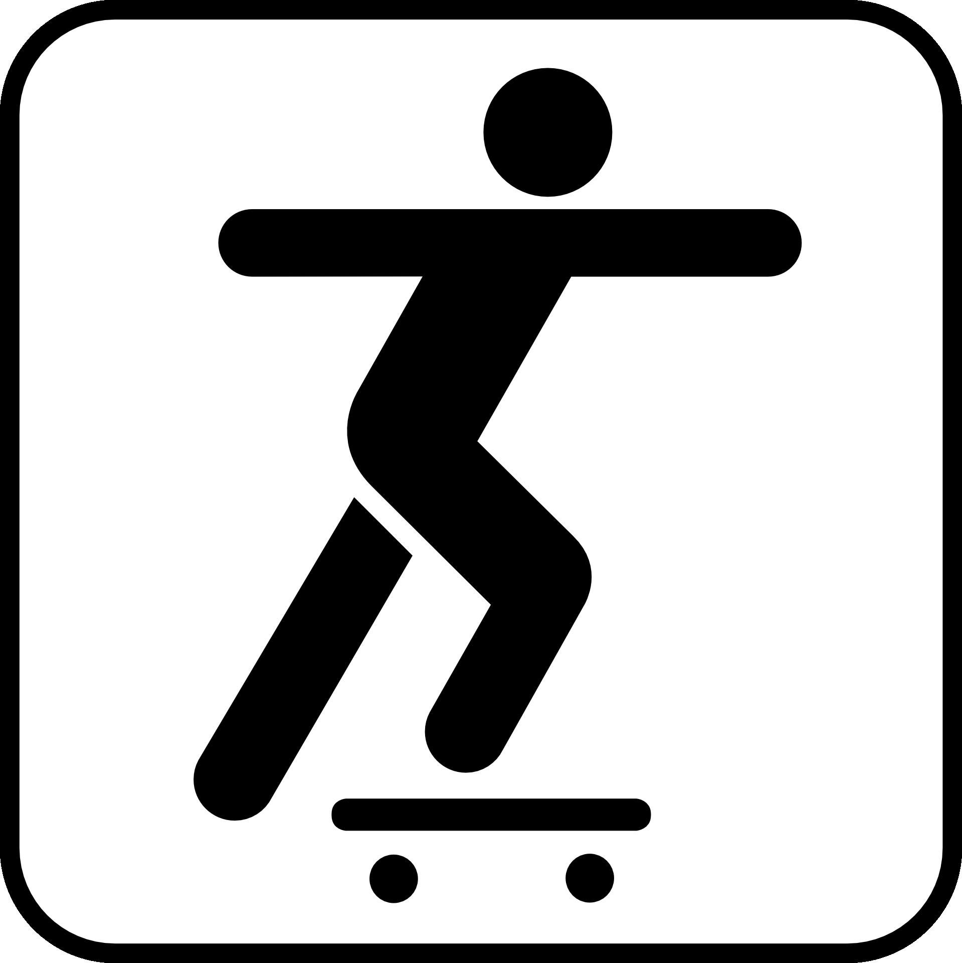 1919x1920 Skateboarding Longboard Extreme Sport Clip Art