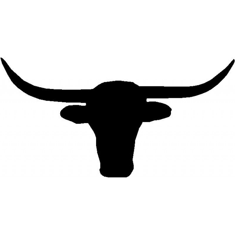 Longhorn Silhouette At Getdrawings Com Free For Personal