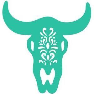 Longhorn Skull Silhouette