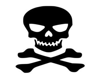 340x270 Silhouette Skull Etsy