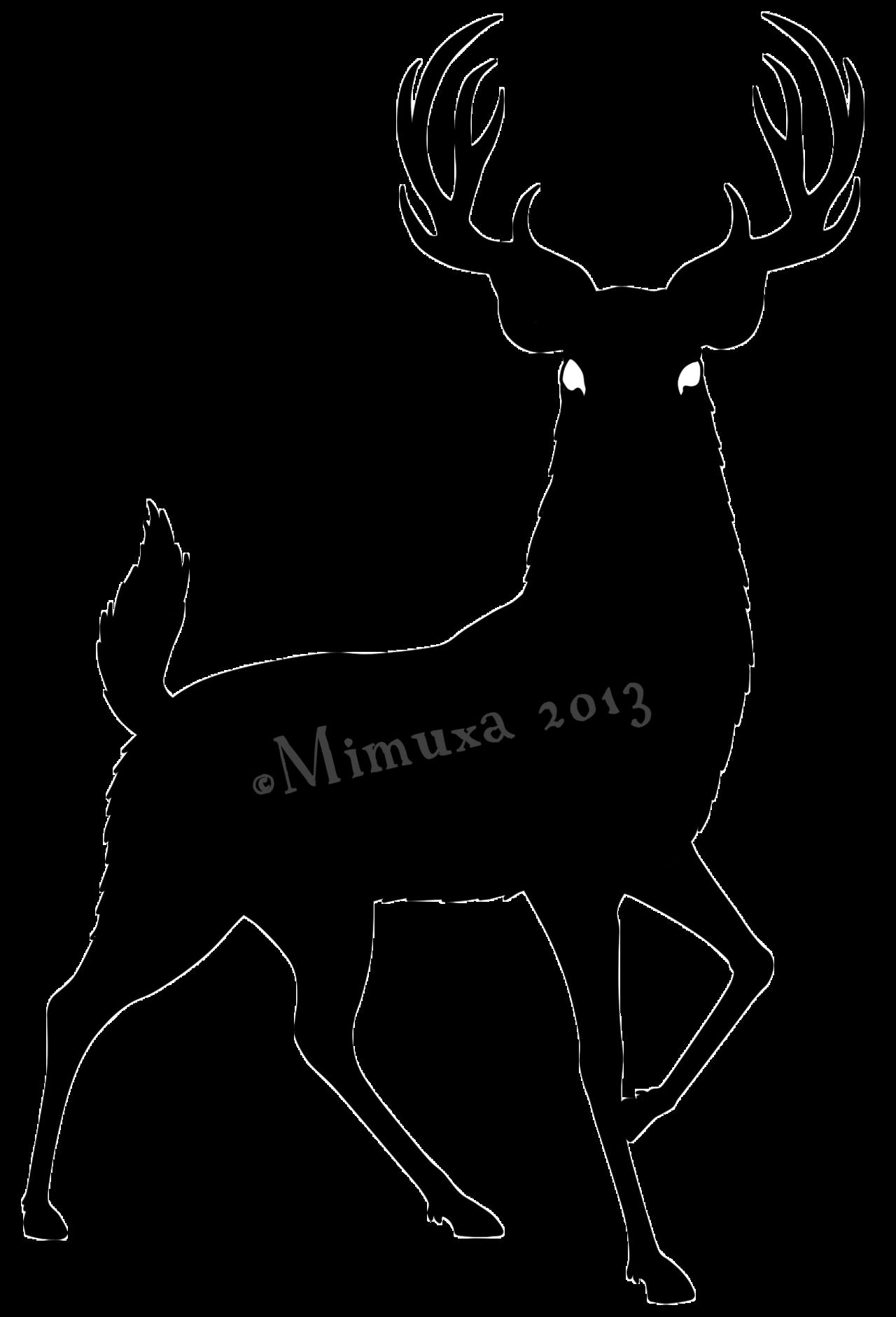 1280x1881 Images Deer Silhouette