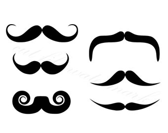 340x270 Mustache Svg Etsy