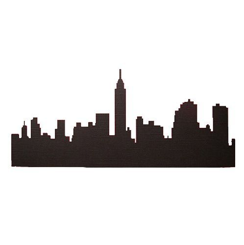 498x500 New York City Skyline Kids Clipart