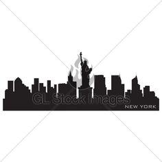 236x236 Los Angeles, California Skyline. Diy Los Angeles