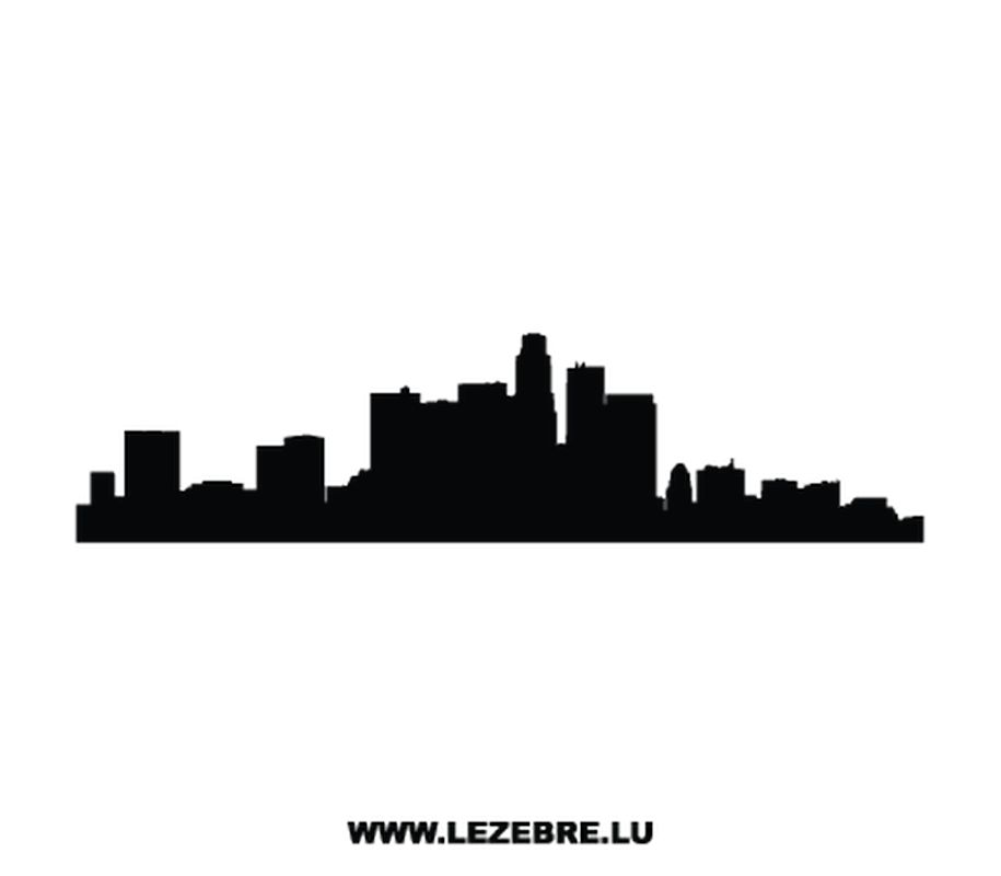 915x800 Los Angeles Decal