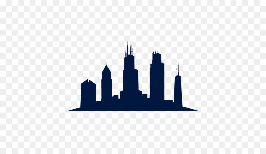 900x520 Chicago Skyline Silhouette