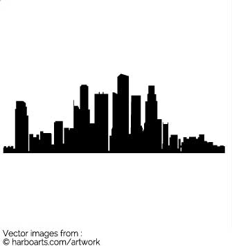 los angeles skyline silhouette vector at getdrawings com free for rh getdrawings com los angeles city skyline vector los angeles skyline silhouette vector free